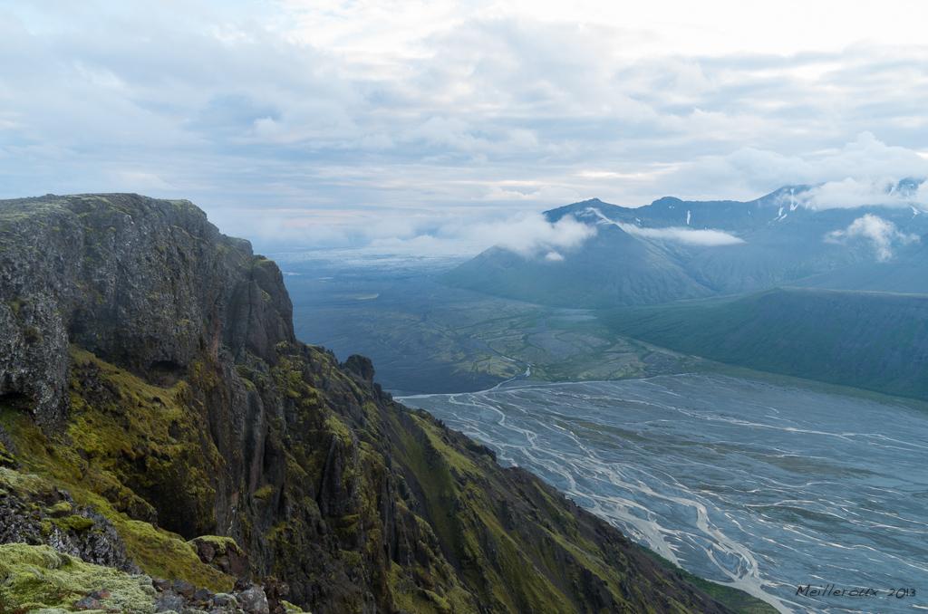 Depuis les hauteurs de Skaftafell