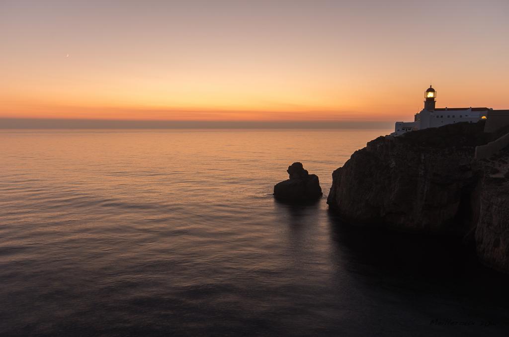Le Cap Saint-Vincent au coucher du soleil
